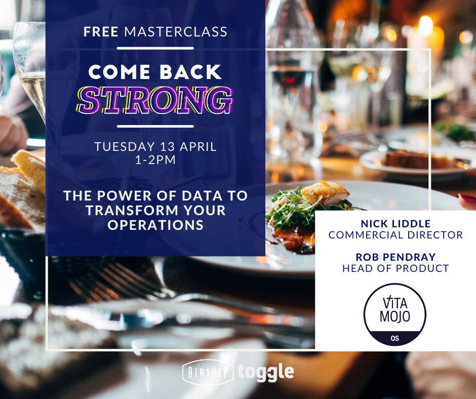 Come Back Strong Masterclass: The Power of Data to Transform Your Operations